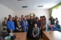 БАРИШІВКА. Керівник молодіжного відділу єпархії взяв участь у презентації проекту