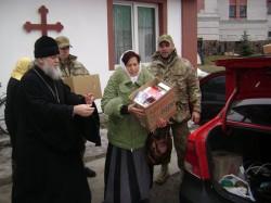 КНЯЖИЧІ. Спасо-Преображенський монастир черговий раз передав медикаменти для українських військових