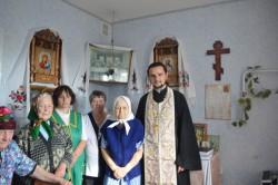 БЕРЕЗАНЬ. Священик звершив чин освячення будинку для людей похилого віку