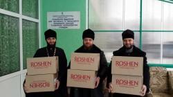 Священики 2-го Бориспільського благочиння на Різдво відвідало дітей сиріт, інвалідів та престарілих
